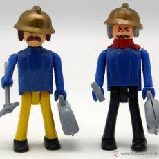 Coman Boys: 2 COMAN BOYS CONSTRUCCIÓN OBREROS COMANSI. Lote 46678286