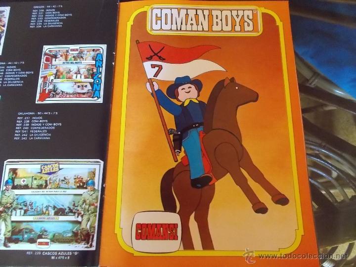 Coman Boys: COMANSI : CATÁLOGO ORIGINAL AÑO 1979 44 PÁGINAS SOLO CAJAS FIGURAS Y COMAN-BOYS-COMANBOYS.PTOY - Foto 5 - 47849032
