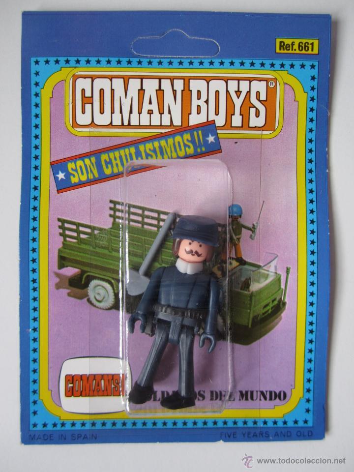 COMAN BOYS MILITAR SERIE SOLDADOS DEL MUNDO REF 661 COMANSI BLISTER NUEVO . (Juguetes - Figuras de Acción - Coman Boys)