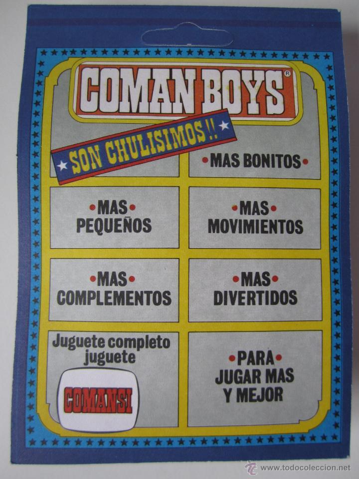 Coman Boys: COMAN BOYS MILITAR SERIE SOLDADOS DEL MUNDO REF 661 COMANSI BLISTER NUEVO . - Foto 2 - 49528477
