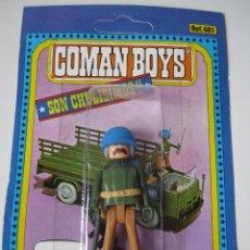 Coman Boys: COMAN BOYS MILITAR SERIE SOLDADOS DEL MUNDO REF 661 COMANSI MUÑECO BLISTER NUEVO .. Lote 49528521