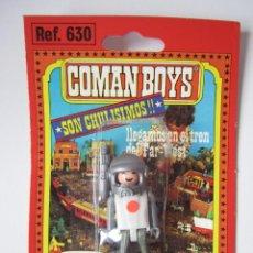 Coman Boys: COMAN BOYS SERIE COMANDOS DEL ESPACIO MUÑECO REF 810 COMANSI BLISTER NUEVO REF 630 .. Lote 49528944