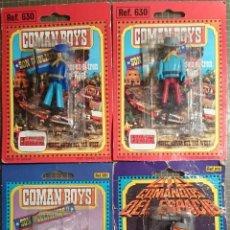 Coman Boys: COMAN BOYS LOTE 4 FIGURAS PRECINTADAS. Lote 53819822