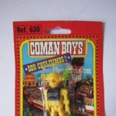 Coman Boys: COMAN BOYS FIGURA COSMO ROBOT SERIE COMANDOS DEL ESPACIO. COMANSI BLISTER NUEVO. .. Lote 57646222