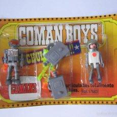 Coman Boys: COMAN BOYS DOS FIGURAS SERIE COMANDOS DEL ESPACIO. BLISTER NUEVO. .. Lote 57646292