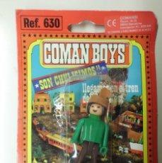 Coman Boys: FIGURA COMAN BOYS ESPECIALISTA DEL FAR WEST EN BLISTER.. Lote 59922611