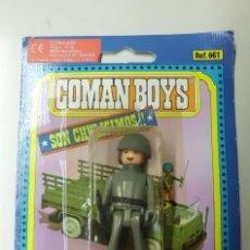 Coman Boys: FIGURA COMAN BOYS DE COMANSI SOLDADOS DEL MUNDO EN BLISTER.. Lote 59922979