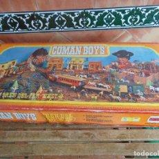 Coman Boys: TREN DEL FAR WEST DE LOS COMAN BOYS DE COMANSI VERSION CAJA GRANDE. Lote 69858433