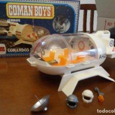 Coman Boys: COMAN BOYS AERONAVE COMANDOS DEL ESPACIO DE COMANSI AÑOS 70 REF 806 EN CAJA ORIGINAL. Lote 76026995