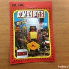 Coman Boys: BLISTER COMAN BOYS INDIO DEL OESTE SIN USAR . Lote 77407909