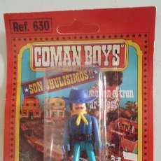 Coman Boys: COMAN BOYS ESPECIALISTA DEL FAR WEST. SOLDADO DEL NORTE AÑOS 80 EN BLISTER ORIGINAL. Lote 96828063