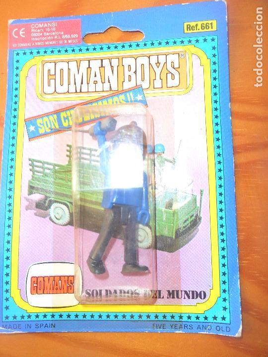 COMAN BOYS - SOLDADOS DEL MUNDO - COMANSI - NUEVO (Juguetes - Figuras de Acción - Coman Boys)