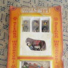 Coman Boys: ANTIGUA CAJA ORIGINAL COMAN BOYS FAR WEST AÑOS 70-80. Lote 102792059