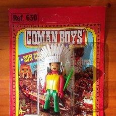 Coman Boys: JEFE INDIO 1, COMAN BOYS DE COMANSI. ESPECIALISTA DEL FAR WEST. AÑOS 80. Lote 103087451
