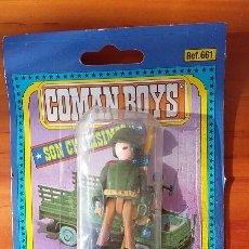 Coman Boys: SOLDADO NORTEAMERICANO COMAN BOYS DE COMANSI. SOLDADOS DEL MUNDO. AÑOS 80. Lote 103088167