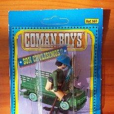 Coman Boys: SOLDADO ONU COMAN BOYS DE COMANSI. SOLDADOS DEL MUNDO. AÑOS 80. Lote 103088259