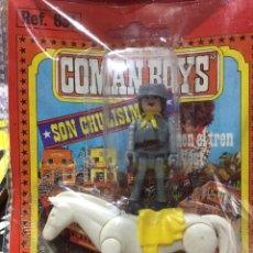 Coman Boys: COMAN BOYS DE COMANSI ORIGINAL CONFEDERADO A CABALLO. Lote 103211692