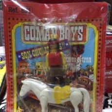 Coman Boys: COMAN BOYS DE COMANSI ORIGINAL INDIO A CABALLO. Lote 103212612