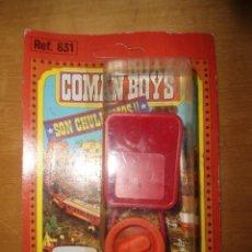Coman Boys: ANTIGUO BLISTER COMAN BOYS OESTE. Lote 111666103