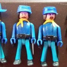 Coman Boys: COMAN BOYS SOLDADOS AMERICANOS NORTE, CON PISTOLA, RIFLE Y CUCHILLO O SABLE FIGURAS AÑOS 80. Lote 112101343