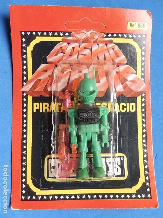 COSMO ROBOT. PIRATAS DEL ESPACIO. COMANSI BOYS. (Juguetes - Figuras de Acción - Coman Boys)