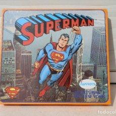 Coman Boys: CAJA SUPERMAN CON FIGURA DE COMAN BOYS. AVENTURAS EN NEW YORK.AÑOS 70. A ESTRENAR.. Lote 112733843