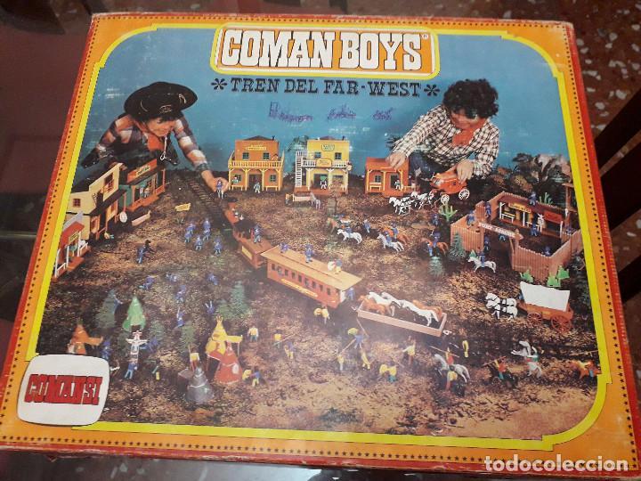 TREN DEL FAR WEST. COMAN BOYS DE COMANSI (Juguetes - Figuras de Acción - Coman Boys)
