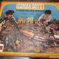 Coman Boys: TREN DEL FAR WEST. COMAN BOYS DE COMANSI. Lote 135655719