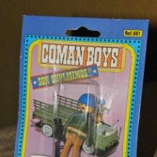 Coman Boys: COMAN BOYS COMANSI AÑOS 80 SOLDADOS DEL MUNDO. Lote 136174742