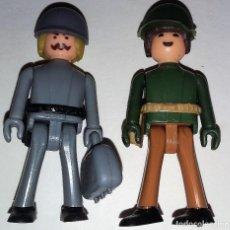 Coman Boys: COMAN BOYS SOLDADOS NORTEAMERICANO Y ALEMAN CON MALETIN AÑOS 70. Lote 138714178