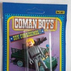 Coman Boys: COMAN BOYS SOLDADO ALEMAN RUBIO CON BIGOTE Y CON ARMAS AÑOS 70 . Lote 138969590