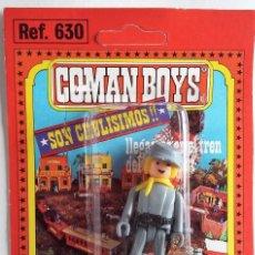 Coman Boys: COMAN BOYS CONFEDERADO RUBIO CON ARMAS AÑOS 70 . Lote 138985106