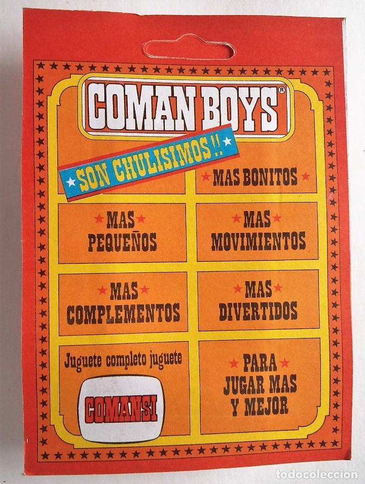 Coman Boys: COMAN BOYS confederado rubio CON ARMAS AÑOS 70 - Foto 2 - 138985106