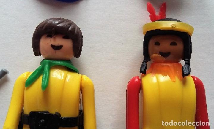 Coman Boys: Coman boys. Indio y vaquero cowboy con accesorios. Años 70 - Foto 2 - 139031698