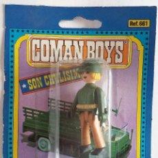 Coman Boys: COMAN BOYS SOLDADO AMERICANO RUBIO CON ARMAS AÑOS 70 . Lote 139069626