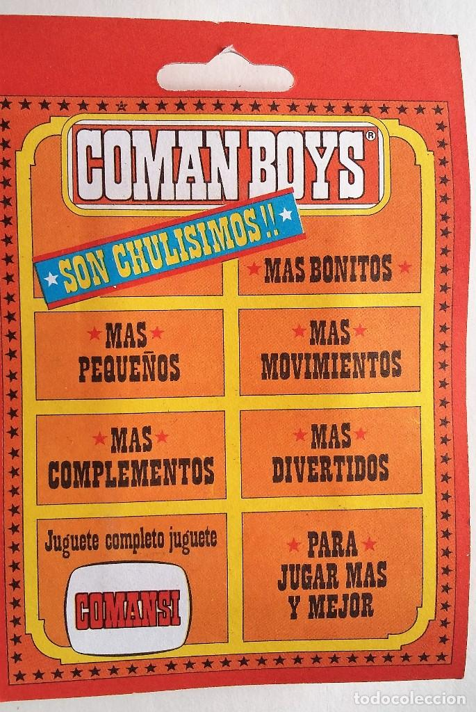 Coman Boys: Coman boys. Jefe indio 2 años 70 en blister original - Foto 2 - 139094590