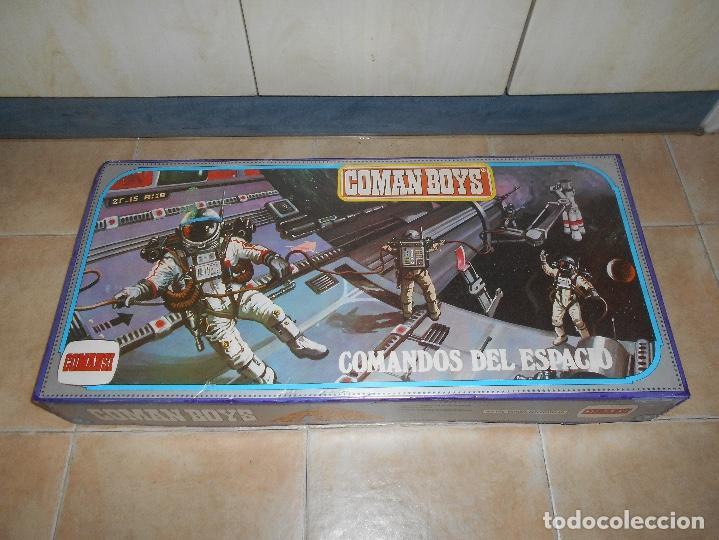 CAJA COMPLETA COMANSI REF 818 ESPACIO INTERESTELAR-COMAN BOYS-82X38X11 CM SIN JUGAR (Juguetes - Figuras de Acción - Coman Boys)