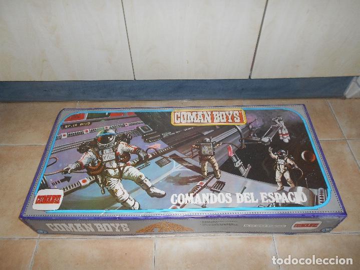 Coman Boys: CAJA COMPLETA COMANSI REF 818 ESPACIO INTERESTELAR-COMAN BOYS-82x38x11 cm SIN JUGAR - Foto 2 - 146276134