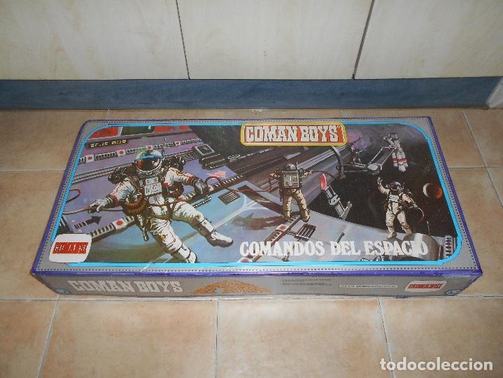 Coman Boys: CAJA COMPLETA COMANSI REF 818 ESPACIO INTERESTELAR-COMAN BOYS-82x38x11 cm SIN JUGAR - Foto 3 - 146276134