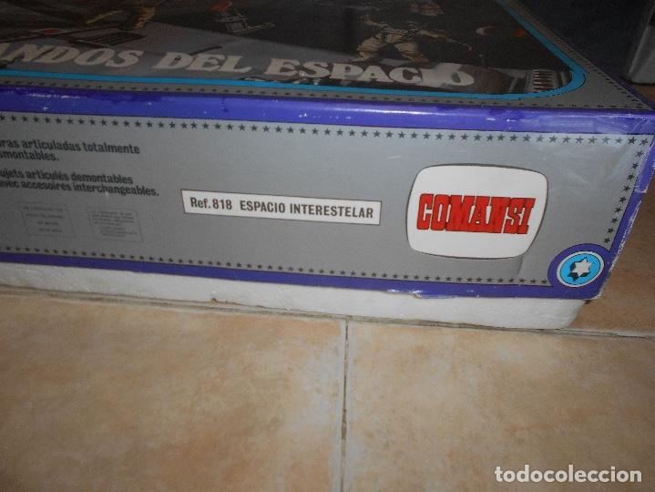 Coman Boys: CAJA COMPLETA COMANSI REF 818 ESPACIO INTERESTELAR-COMAN BOYS-82x38x11 cm SIN JUGAR - Foto 4 - 146276134