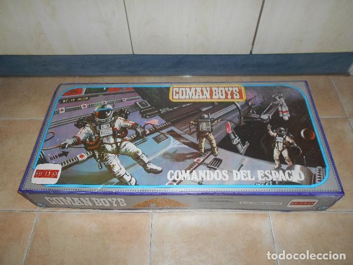 Coman Boys: CAJA COMPLETA COMANSI REF 818 ESPACIO INTERESTELAR-COMAN BOYS-82x38x11 cm SIN JUGAR - Foto 5 - 146276134