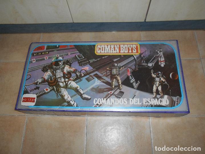 Coman Boys: CAJA COMPLETA COMANSI REF 818 ESPACIO INTERESTELAR-COMAN BOYS-82x38x11 cm SIN JUGAR - Foto 6 - 146276134