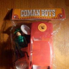 Coman Boys: COMANSI COMAN BOYS MECANICO ESSO CON COCHE Y SEÑALES BLISTER CERRADO ORIGINAL. Lote 150698274