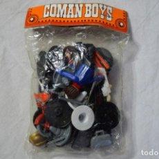 Coman Boys: COMAN BOYS. MOTORISTAS TRÁFICO. FABRICADO EN ESPAÑA. AÑOS 70/80. ROMANJUGUETESYMAS.. Lote 151294354