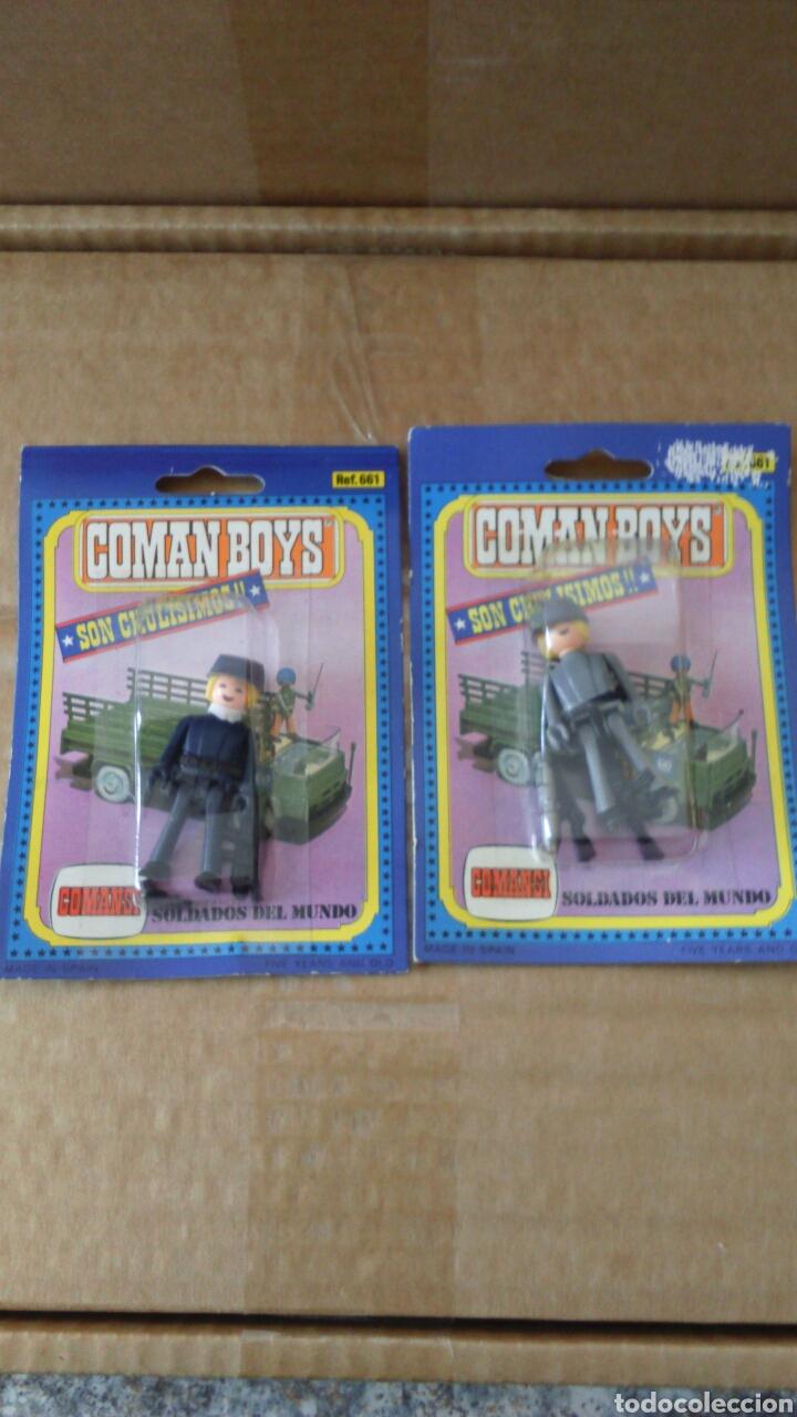 LOTE 2 COMAN BOYS MILITARES (Juguetes - Figuras de Acción - Coman Boys)