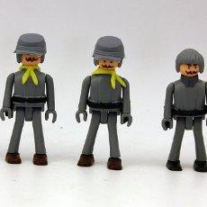 Coman Boys: COMAN BOYS - SERIE OESTE AMERICANO - LOTE DE 5 SOLDADOS CONFEDERADOS - NUEVOS - COMANSI. Lote 156154477