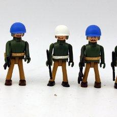 Coman Boys: COMAN BOYS - SERIE SOLDADOS DEL MUNDO - LOTE DE 5 SOLDADOS: POLICIA MILITAR Y CASCOS AZULES - NUEVOS. Lote 156206426