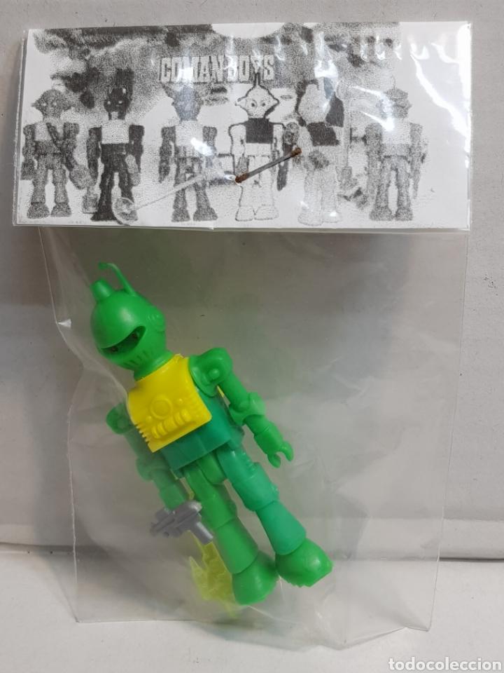 COMAN BOYS SERIE ESPACIO EN BLISTER ORIGINAL (Juguetes - Figuras de Acción - Coman Boys)