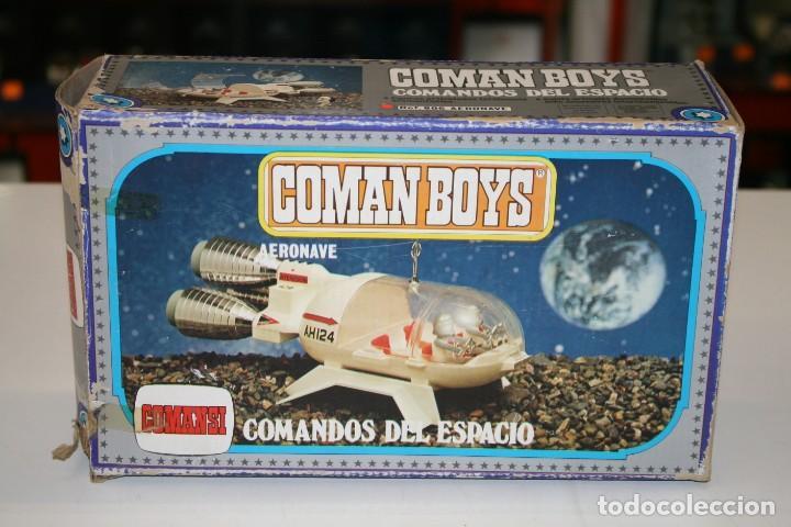 COMAN BOYS DE COMANSI CAJA VACÍA (Juguetes - Figuras de Acción - Coman Boys)