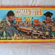 Coman Boys: TREN DEL FAR-WEST - COMAN BOYS - COMANSI - PRACTICAMENTE A ESTRENAR. Lote 170005940